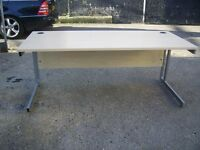 SVEN CHRISTIANSEN BEECH WOODEN OFFICE DESK 3 FOR SALE