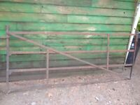 vintage antique field gate 9 feet x 45 inches
