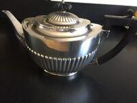 Queen Anne Silver Plated Teapot - Walker & Hall