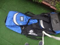 Padded Transport Bag for Golf Clubs