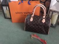 Louis Vuitton Speedy Monogram Neverfull Designer Women's Handbag Purse