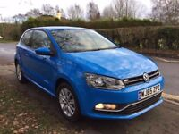 Volkswagen Polo 1.2 TSI BlueMotion Tech SE (start/stop) CAT D 4,500 Miles only immaculate condition