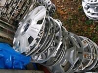 Ford wheel trims, trasnit fiesta mondeo focus escort ka