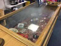 WANTED: Toughened glass counter top for Sue Ryder shop
