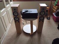 Cambridge Audio A1 Amp & CD5 CD Player & Gale 4040 Floorstanding Speakers - Hi-Fi separates system