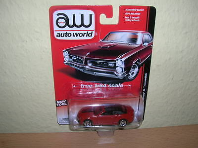 AW Auto World 2013 Chevy Camaro ZL1 Convertible rot red, 1:64 (Chevy Camaro Zl1)