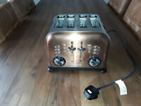For Sale - Morphy Richards Accents 4 Slice Toaster - Copper