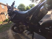 Yamaha wr 125x 2014 for sale, excellent condition, always keep on garage, full arrow exhaust