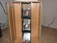 65 + CD'S + Cabinet +DVD Record Player