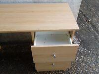 Pine Colour Desk - DELIVERY AVAILABLE