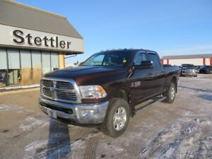 2015 RAM 2500 SLT DIESEL! EXTENDED WARRANTY! HEATED SEATS!