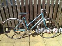 Vintage BSA Ladies bicycle / bike