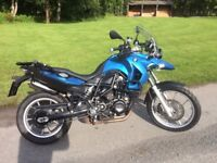 BMW F650GS 798CC TWIN - BMW FACTORY LOWERED