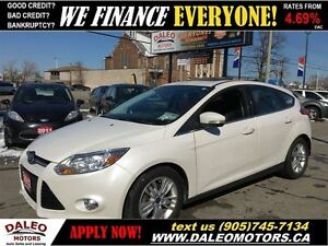 2012 Ford Focus SEL LEATHER 1 OWNER SUNROOF 116KM
