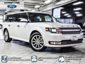 2018 Ford Flex Limited, DVD Ent system, Pano Roof, Navi, Demo