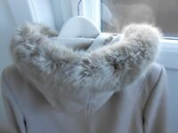 Top quality Miss Selfridge hooded duffle coat generous size 14 never worn