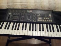 General Music Midi Hyper Electronic Keyboard 30 with stand