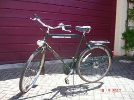 Gents Raleigh Superbe vintage 3 speed bicycle in good condition