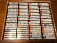 250 + TDK C90 Cassette Music Tapes Collection Bargain Price