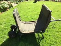 Nash H-GUN Bed chair customised to a barrow chair Used condition