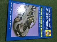 Citroen Berlingo/ Peugeot Partner Owners Workshop Manual