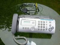 Fax machine and copier Panasonic KX - FP205