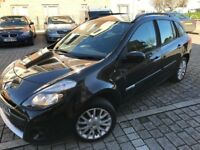 Renault Clio 1.5 TD Sport Tourer,Diesel,2010, Estate,1 owner,full service,2 keys,new mot,hpi clear