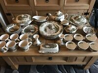 JOHNSON BROTHERS DINNER SET WITH EXTRAS MINT
