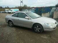 Honda accord coupe 3 v6 breaking
