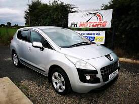 2010 PEUGEOT 3008 1.6 HDI SPORT - ONLY 69K MILES - FINANCE £120 PM