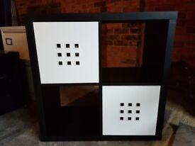 Ikea Shelving Unit Black/Brown