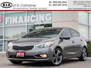 2015 Kia Forte SX | Navigation | Leather | Ventilated Seat