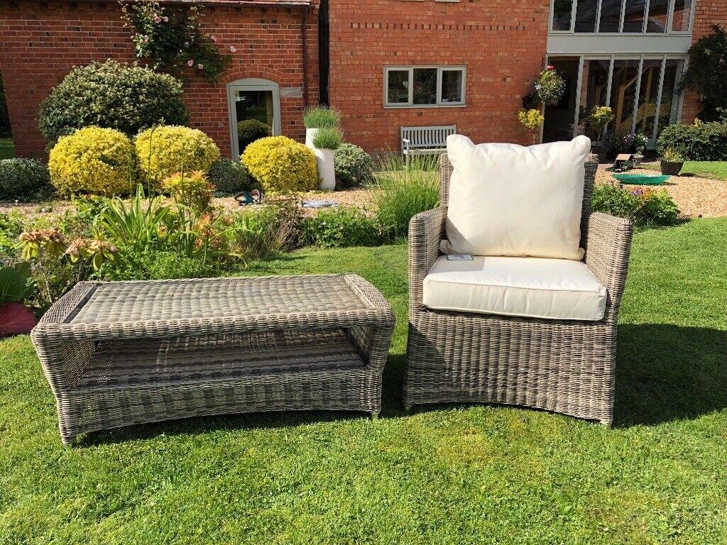 Superb John Lewis Dante Garden Chair Table In Birmingham West Midlands Gumtree Home Interior And Landscaping Ologienasavecom