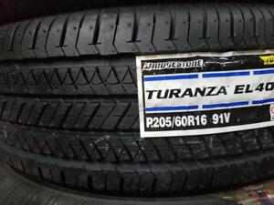 1 summer tire bridgestone turanza 205/60r16 new