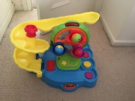 Fisher price lights and sounds ball run