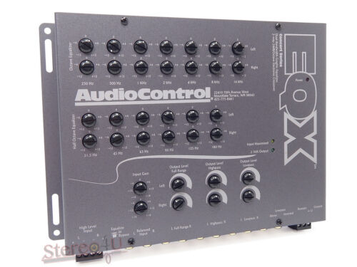 Car Audio Equalizer: AudioControl EQX Car Stereo 2Channel Equalizer + Crossover