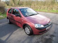 CORSA 1.0, VERY LOW MILEAGE, 1 OWNER, NEW MOT, GROUP 1 INSURANCE, 60 MPG, ANY PART-EXCHANGE WELCOME