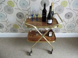 """VINTAGE STYLE"" TEA (HOSTESS) TROLLEY TABLE FOR SALE"
