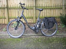 Electric Bicycle Kalkhoff Tasman For Sale ONLY £550 Cambridge faulty but probably fixable unisex