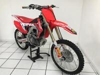 Honda CRF250 motorcross bike (2015) **extreamley clean never raced** £2900