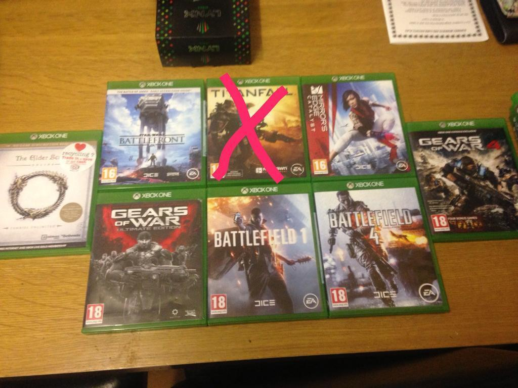 Xbox 1 games | in Clifton, Nottinghamshire | Gumtree