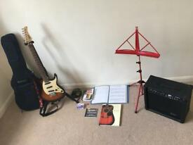 Starter Electric Guitar Kit - 190 ONO