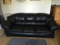 NEW DFS REAL LEATHER 3+2 SOFAS CAN DELIVER FREE
