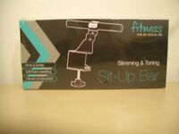 Ab Toner, Sit Up Bar - Brand new in box and sealed - Ex Condition