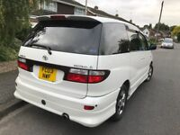 TOYOTA ESTIMA AERAS, 8 SEATER, AUTOMATIC,LPG, LOW MILES only 92k, NICE DRIVE…LEICESTER!!