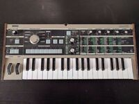 korg microkorg in nearly new condition ! synthesizer keyboard