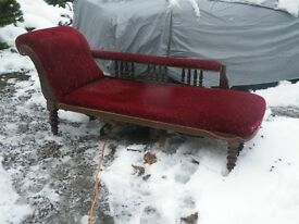 VICTORIAN CHAISE LONGUE (project)