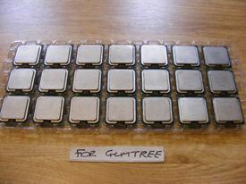 Intel E4500. Tray of (21 CPUs)