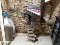 Mariner 6HP outboard boat engine