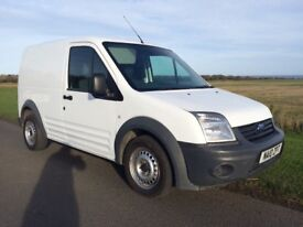 2010 FORD TRANSIT CONNECT 1.8 TURBO DIESEL ONE OWNER FROM NEW 12 MONTH MOT READY FOR WORK NO VAT